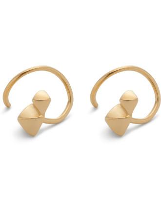Marble Twirl Earring