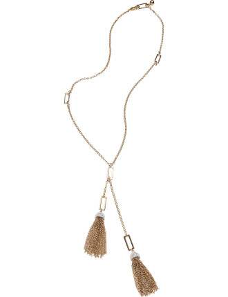 Ursula Tassel Necklace