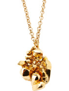 Cold Cast Crystal Cave Necklace $63.00