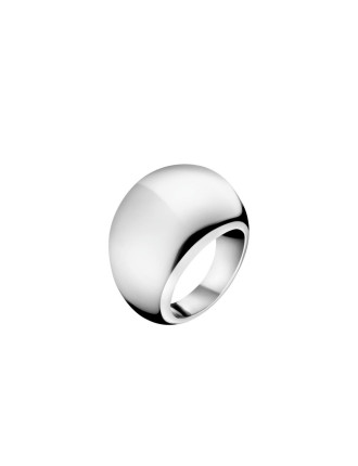 Ellipse Polished Stainless Steel Ring