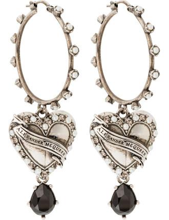 Hearth Locked Earring
