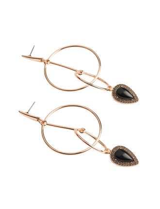 Bardot Nights Hoop Earrings