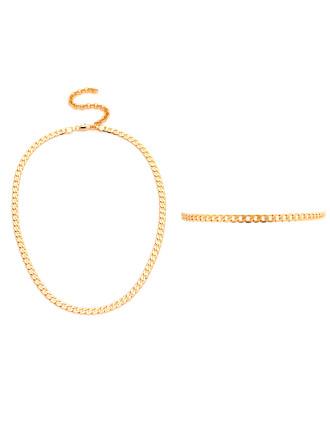 Chelsea Choker & Collar Set