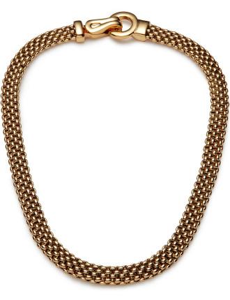 Metal Circle Necklace