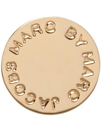 Logo Disc Studs