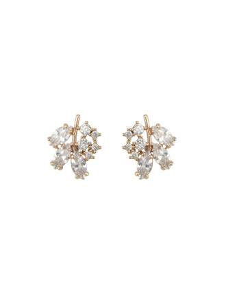 Dark Romance Crystal Stud Earrings
