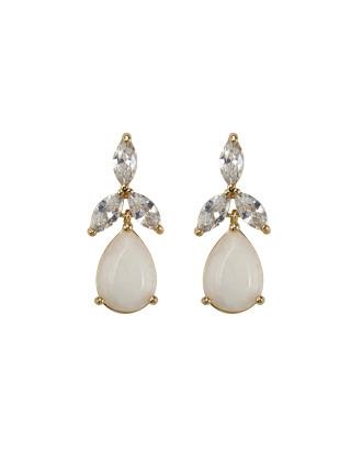Orchids Silk Earrings