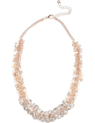 Ombre Cluster Necklace
