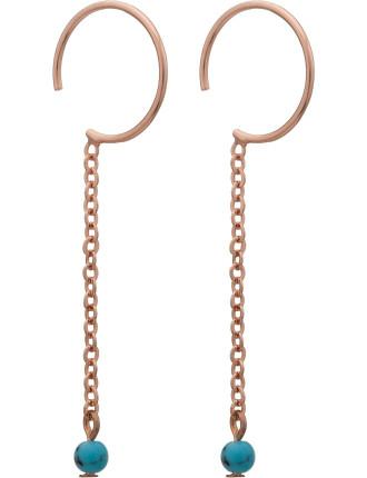 Baby Hoop Threader Earrings