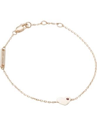 Heart Chain Bracelet