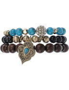 Running Home Bracelet  Set $99.00