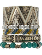 Tribal Dreamer Bracelet Set $140.00