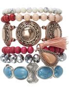 Come As You Are Bracelet Set $140.00