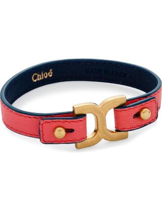 Marcie Leather Simple Bracelet