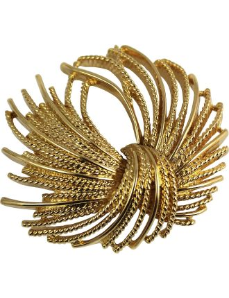 MONET 1970s 'Mirrador' Brooch