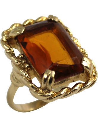 SARAH COVENTRY 1960s 'Wild Honey' Adjustable Ring