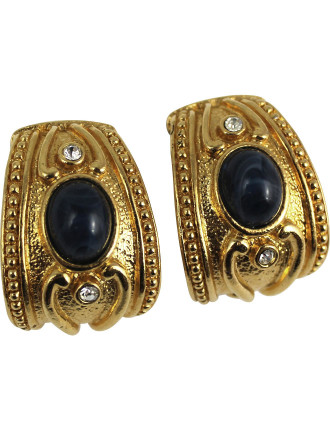 AVON Etruscan Inspired Clip Earrings