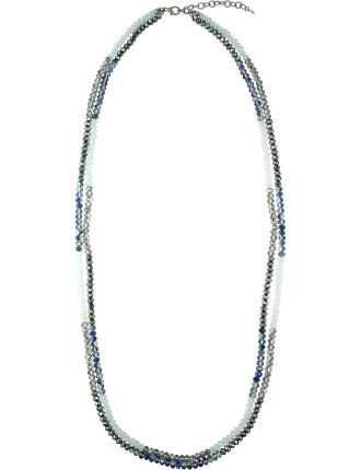 Long Double Strand Necklace