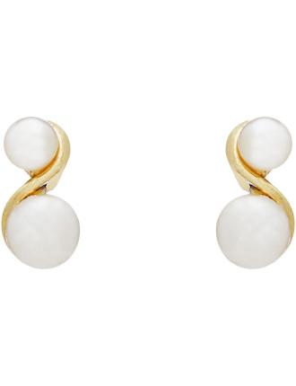 Grace Clip Pearl Earring