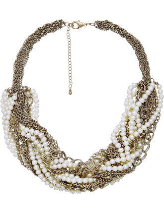 Gracie Pearl Necklace
