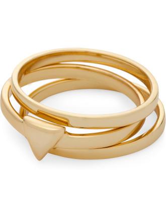 Forever Aztec Ring Set