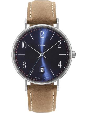 Detroit Leather Watch
