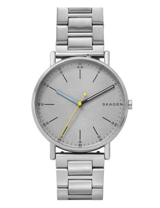 Signatur Silver-Tone Watch