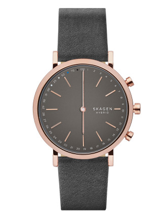 Hald Leather Hybrid Smartwatch