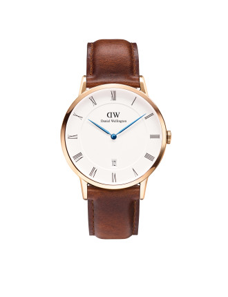Dapper St Mawes 38mm Rose Gold