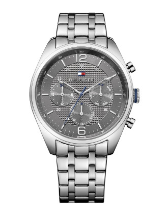 Mens Multifunction Ss Rou Case Gre Dial Ss B