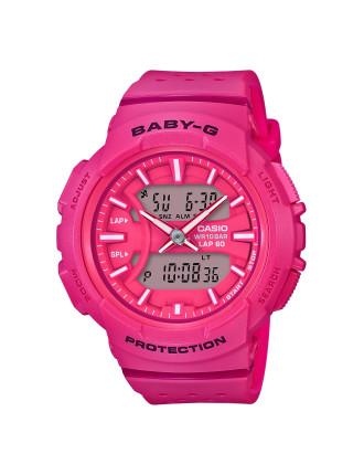 Baby G Duo Lap 60 S/Watch, Alarm