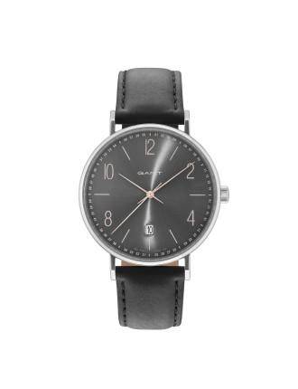 DETROIT Watch - Grey Dial, Black Strap
