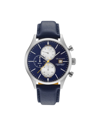 VERMONT Watch - Blue Dial, Blue Strap
