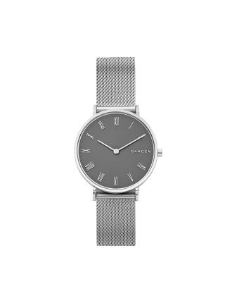 Slim Hald Silver Watch
