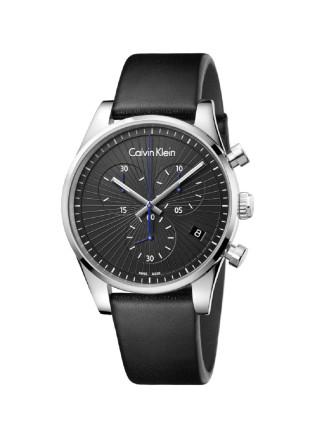 Calvin Klein Steadfast Black Dial Watch