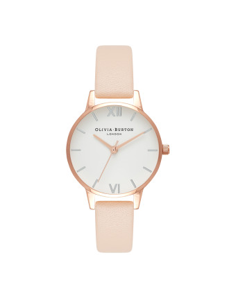 White Dial Midi Watch