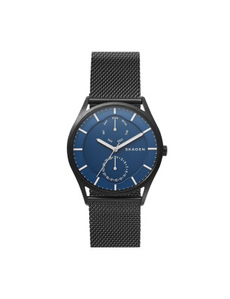 Holst Black Steel-Mesh Multifunction