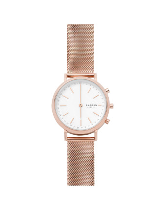 Hald Hybrid Smartwatch (Rose Gold, Mesh)