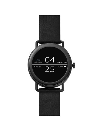 Smartwatch - Falster Black Leather