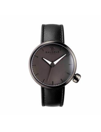Noosa Miidnight Leather Watch
