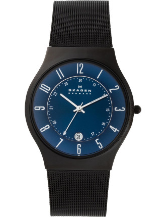 Skagen Titanium Date Function Watch