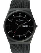 Aktiv Black Mesh Men's Titanium Watch