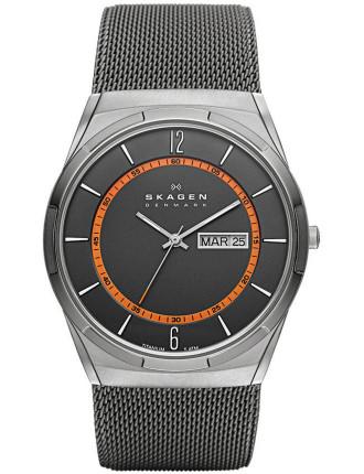 Aktiv Grey Mesh Men's Titanium Watch