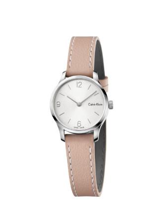 Calvin Klein Pink Endless Leather Watch