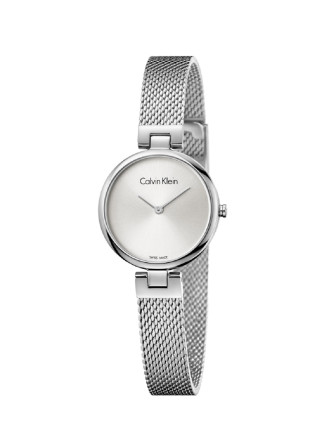 Calvin Klein Authentic Mesh Watch - Stainless Steel