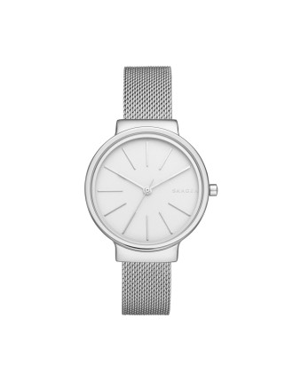 Skagen Ancher Silver/Steel Watch