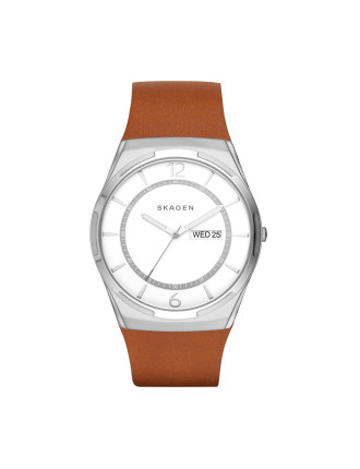 Skagen Melbye Light Brown Watch