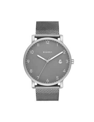 Skagen Hagen Silver/Steel Watch