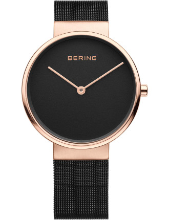 Gents Rose, Black Mesh