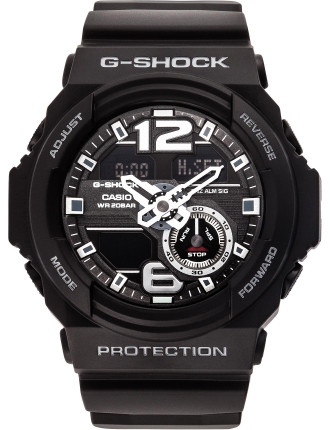 G-Shock New Style Duo 'Arabic Numerals' Black Dial